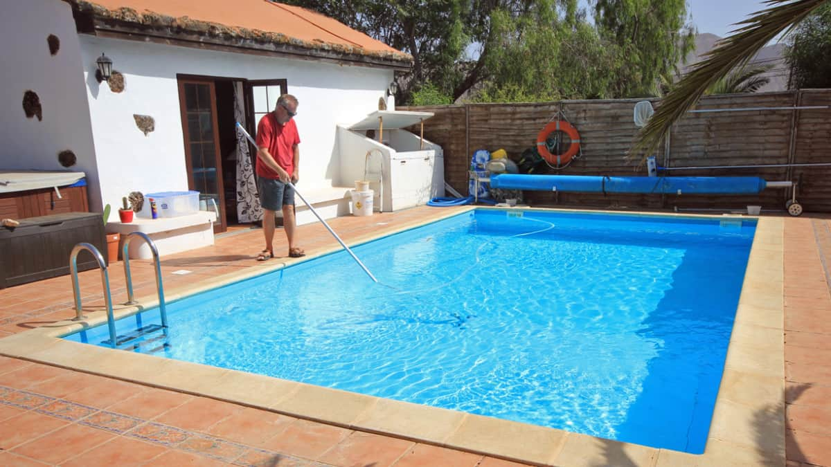 Is it difficult to maintain a pool?