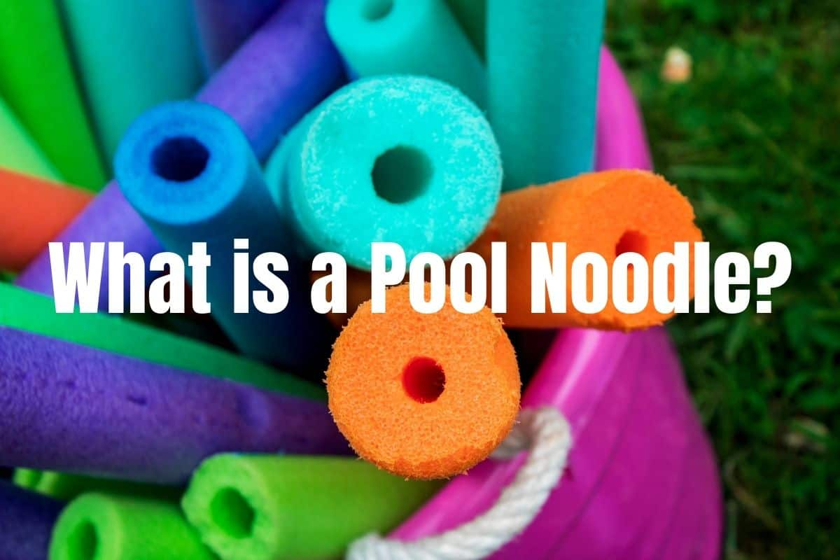 What is a pool noodle