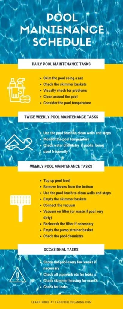 how often to vacuum a swimming pol