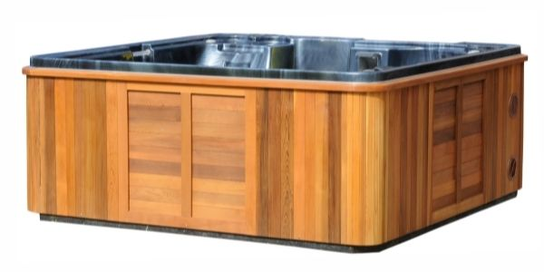 How heavy is an empty hot tub