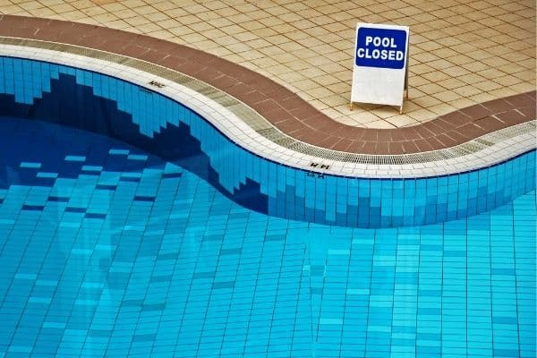 how long after shock can you swim